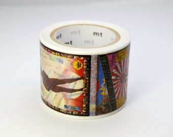 mt 2015 - Used to be Limited Edition mt Japanese Washi Masking Tape - G8 / Tadanori Yokoo's Poster