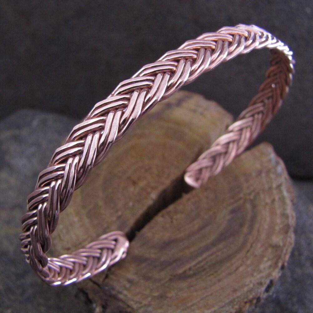 carpal tunnel copper cuff bracelet tendonitis arthritis or