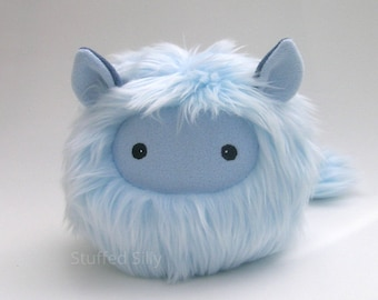 Furry Stuffed Toy Monster, Leo - Cute Plush Toy Collectible by Stuffed Silly