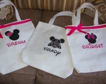 Disney Autograph Tote Bag with FREE PERSONALIZATION