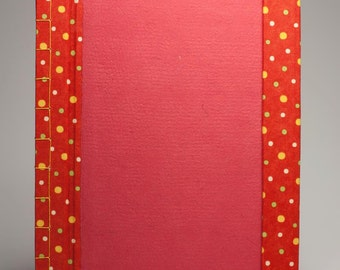 78 page Japanese bound with magnet clasp