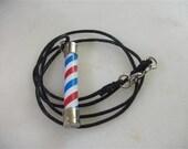 Barber Pole Necklace