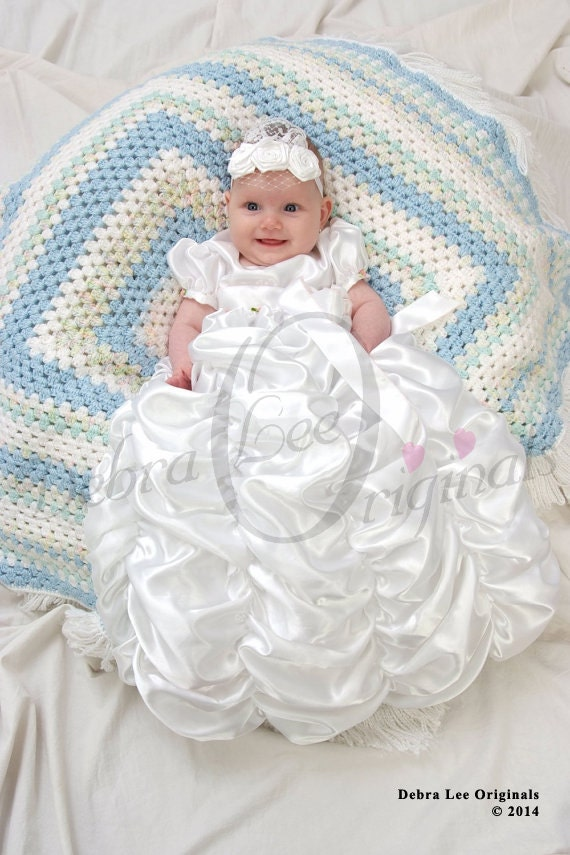Christening, Christening Gown,  Christening Dress, Blessing Gown, Blessing Dress, Isabella