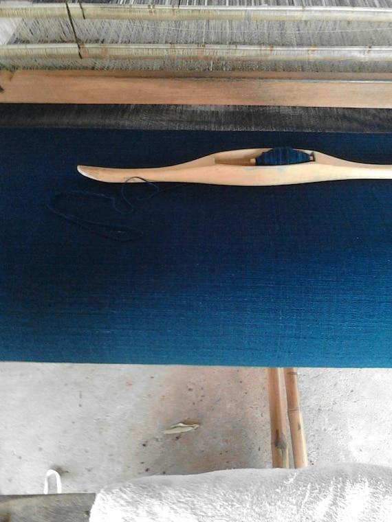 Reserve for elizabeth hill - Plain Indigo Fabric