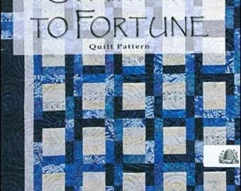 Stairway to Fortune PATTERN ~ Quilt Sewing Pattern ~ BusyBee Quilt Designs  BB10