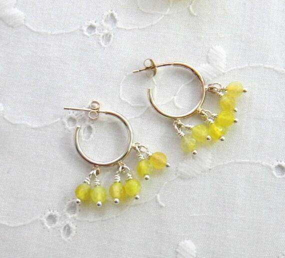 Alexis bittar fine Clear Quartz Light Yellow Sapphire ... |Light Yellow Gemstone Earrings