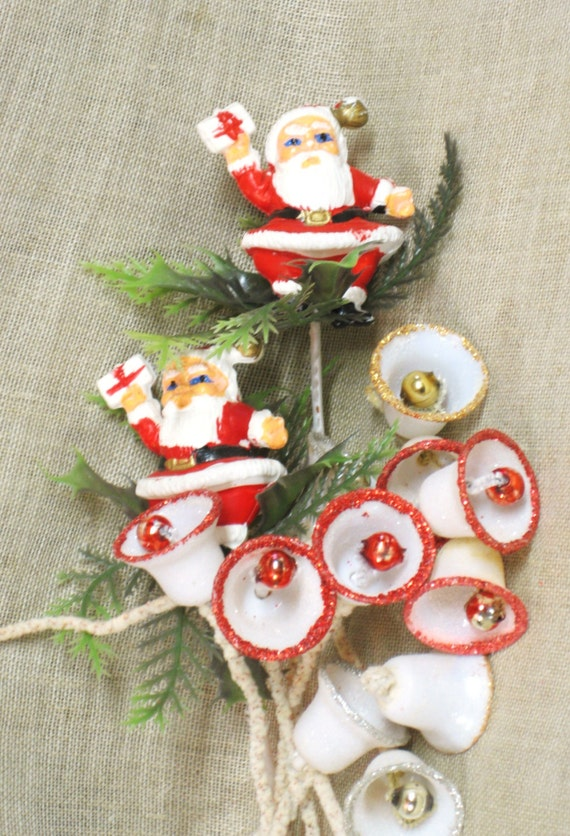 Santa claus holiday decor floral pick christmas for California floral and home christmas decorations