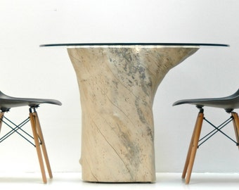 Stump Table Dining Kitchen Pedestal Base