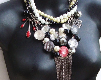 Vintage Statement Necklace by Ashlee Collection on Etsy
