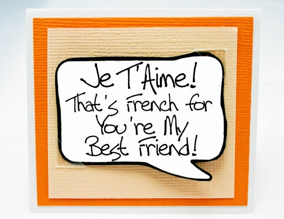 Friendship Quotes In French : French friendship quotes quotesgram