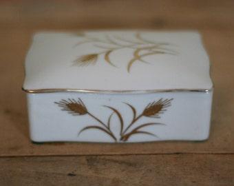vintage lefton cigarette box