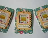 Birthday Gift Tags - Shaker Tags