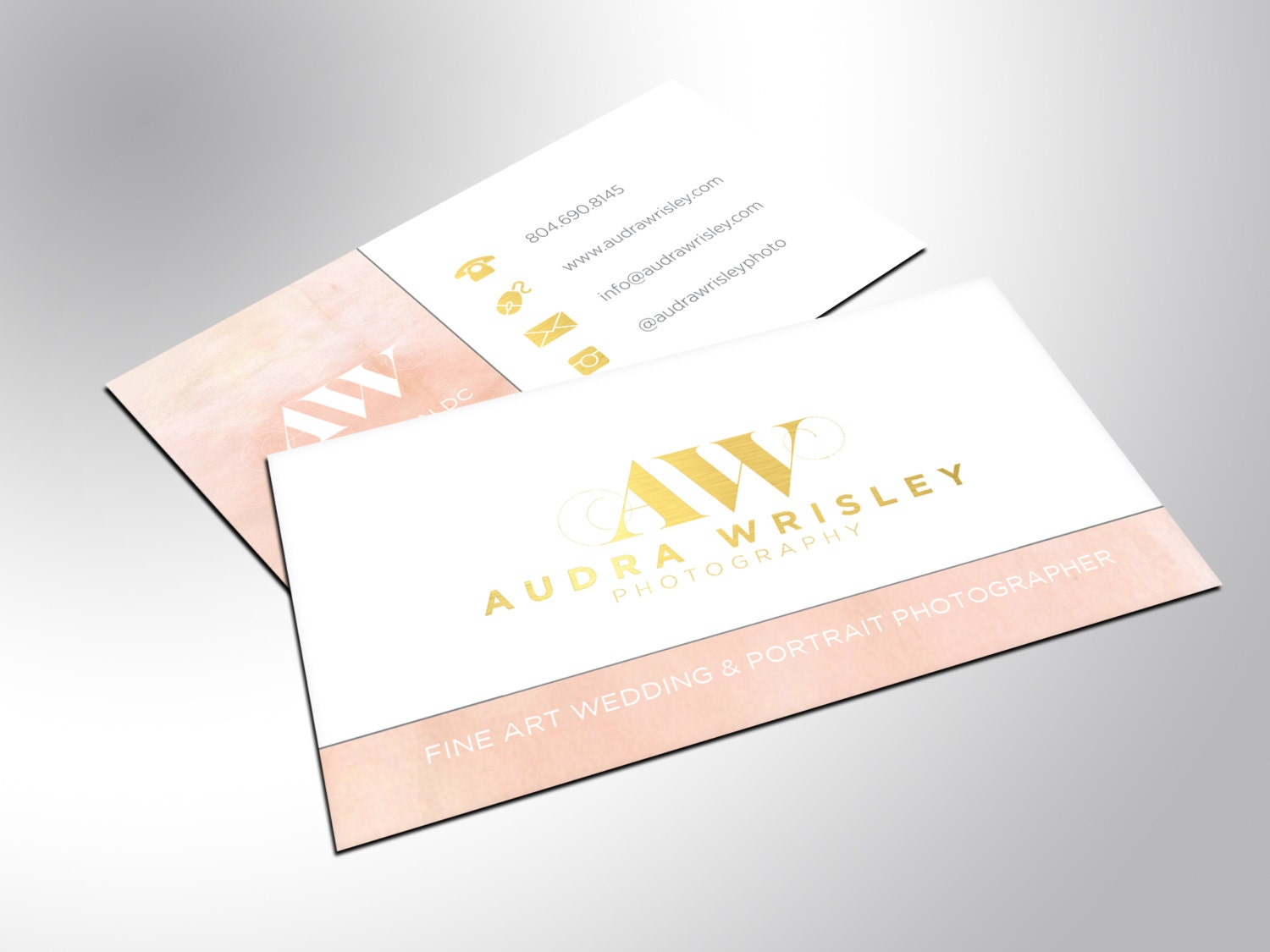 Gold Business Cards Foil