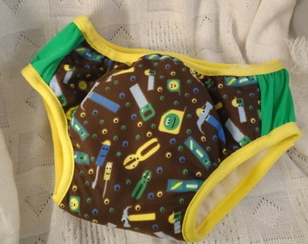 Nighttime Fully Waterproof YOUTH Bedwetting Underwear with Bamboo, Organic Cotton Soaker - Choose Your Custom Colors