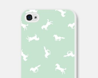 Horse iPhone 5s Case - Horse iPhone 6 Case - Horse iPhone Case Mint iPhone Case Horse iPhone 5c Case Horse iPhone 5s Case Samsung Galaxy S5