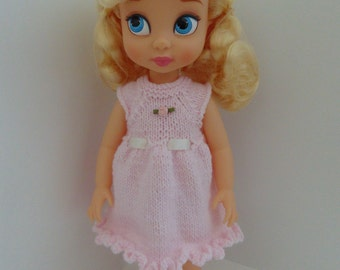 "Knit Dress for 16"" Disney Animator doll and similar sized dolls"