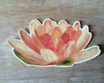 Peach Flowers. Place cards - escort cards - decoration - events - weddings