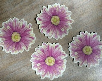 Daisy Flower Prints - Decorations for weddings and events. Place cards, wishing tree, guest book