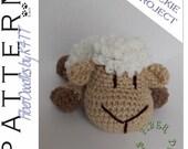 INSTANT DOWNLOAD : Little Pals - Lamb Crochet Pattern