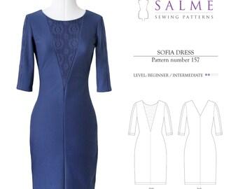 PDF Sewing pattern - Sofia Dress