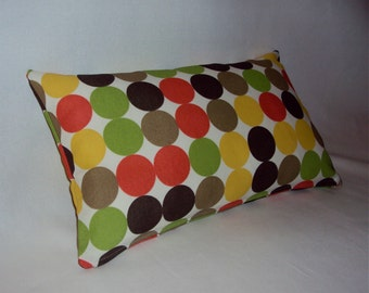 18x12 Mod Dwell Studio Dots Indoor Outdoor Lumbar Pillow Cover - Purchase With Or Without Pillow Form