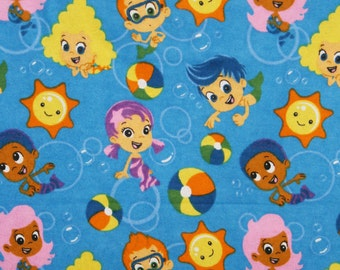 Sunshine and Swimming Flannel Pillowcase