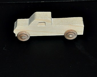 Birthday Party Pack 20 Handcrafted Wood Toy Pickups BP-64AH-U unfinished or finished