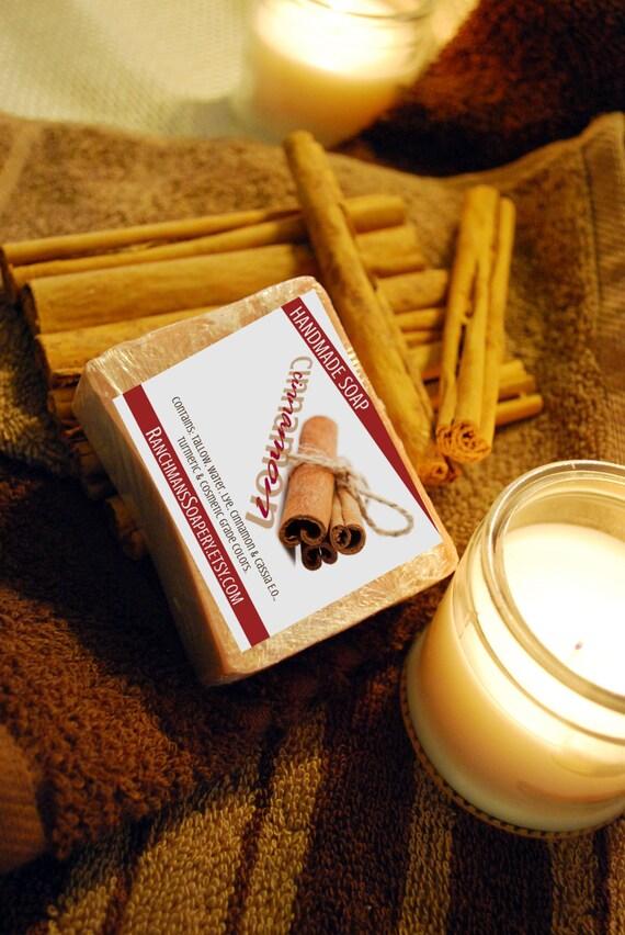 Handmade Cinnamon Soap