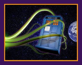 Doctor Who Tardis 8x10 Print