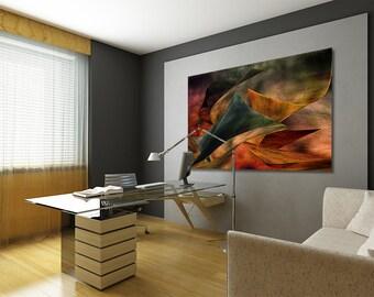 Ultra Modern Abstract Art Canvas Gallery Wrap Fine Art Print Home Office Wall Decor