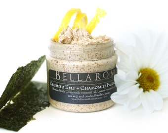 Crushed Kelp + Chamomile FACIAL SCRUB- As seen in the 63rd Primetime Emmy Awards Press Swag Bags