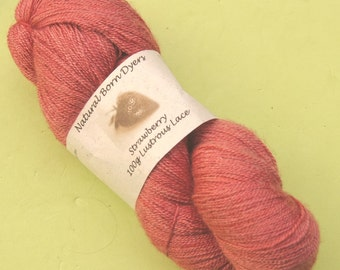 Strawberry Lustrous Lace
