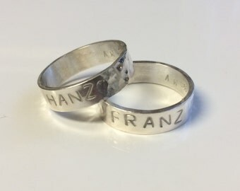 5mm Rescue Ring - Stamped Pet Name - Pay It Forward