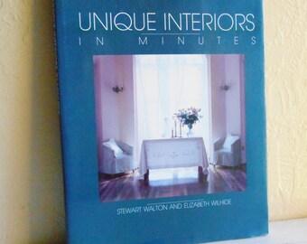 Unique Interiors In Minutes Book
