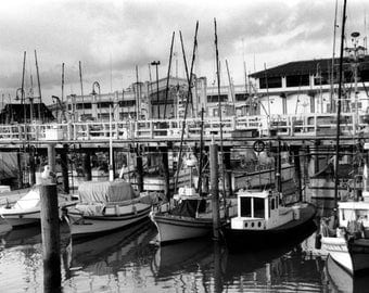 "Fisherman's Wharf San Francisco California Boats Photography Wall Art ""Fisherman's Wharf"""
