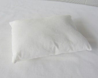 Pillow (only) for Doll Bed. Bed Pillow for American Girl 18 inch doll bed.