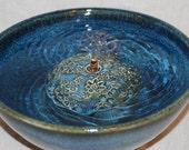 "Cat Fountain -  Pet Water Fountain - Indoor Fountain - 10 Inch Diameter - ""Aster Dance"""
