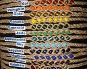 Five 11 Inch Wish Bracelets – Choose Colors - Wear Until They Fall Off - Proceeds Benefit Wounded Warrior Project