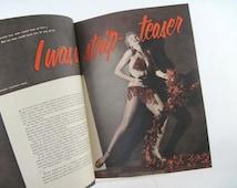 April 1953, Personal Romances Magazine- pulp fiction, 50s pin up girls, beauty advertisements, strip tease, vintage ads, burlesque