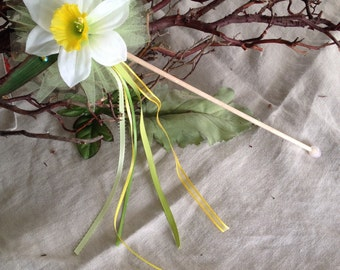 Magical Daffodil Flower Fairy Wand
