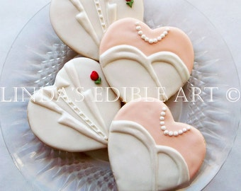 Gown and Tux Wedding Cookies (1 Dozen)