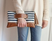 Lizzy Clutch with front hand strap