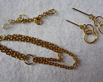 Handmade Fashion doll jewelry  - Your Choice --Gold or Silver tone