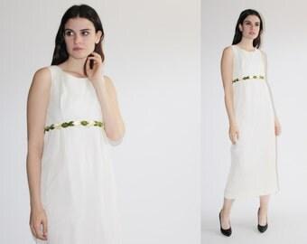 D - 60s Wedding Dress - Goddess Wedding Dress  - The Persephone Dress - 8031