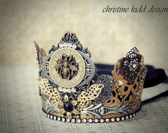 steampunk tiara crown movie prop halloween costume