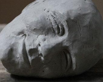 """Smile - Concrete Head 6"""""""