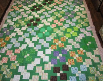 Scrappy Full sized quilt- 78x86 inches