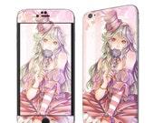 Iphone skin - Pink girl