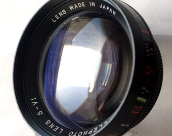 Like New! Made in Japan. Auxiliary Telelens x2, M44.