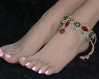 Hemp Anklet India